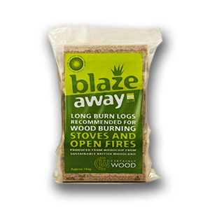 Minster Stoves, stockists of Certainly Wood Blaze Away logs