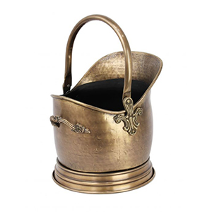 Minster Stoves, stockists of Mansion Brass Bucket