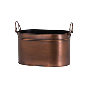 Minster Stoves, stockists of Hill Interiors Copper Bucket