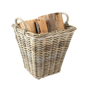 Minster Stoves, stockists of Mansion Kubu Log Basket - Tapered