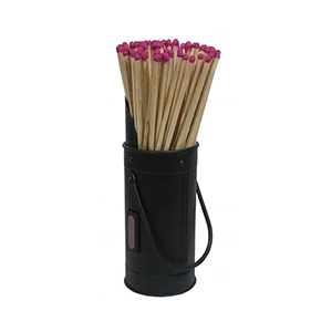 Minster Stoves, stockists of Mansion Matchstick Holder - Black