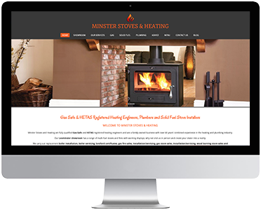 Minster Stoves & Heating Website