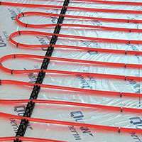 Wet underfloor heating installation Herefordshire, Worcestershire and Shropshire