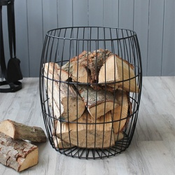 Mansion Log Basket at Minster Stoves & Heating