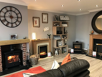Showroom Conversion - Minster Stoves & Heating